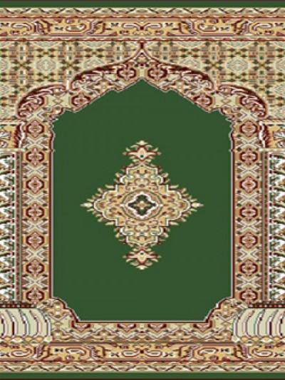 فرش سجاده ای خضرا سبز - 03