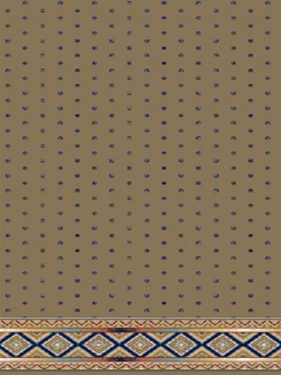 prayer carpet, Sahel pattern, brown