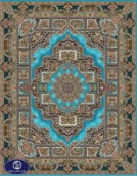 Cheap 700 reeds carpet. code: 6022. blue