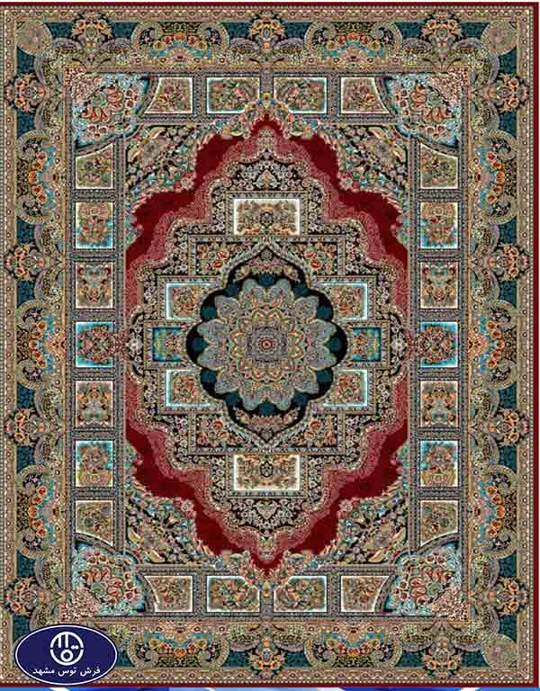 فرش 700 شانه طرح حوض نقره,توس مشهد,لاکی