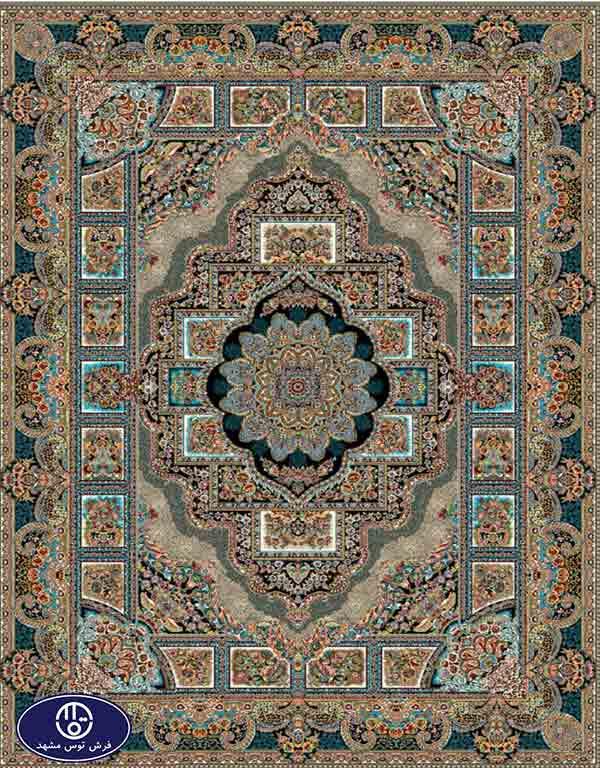 فرش 700 شانه طرح حوض نقره,توس مشهد,موشی