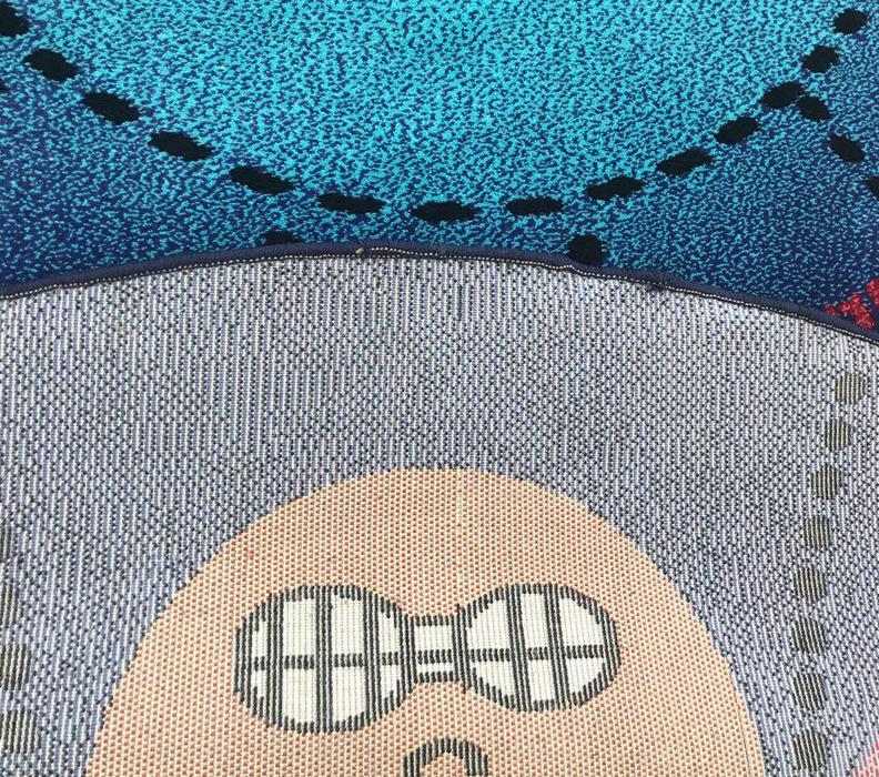فرش عروسکی دایره اشکال -08