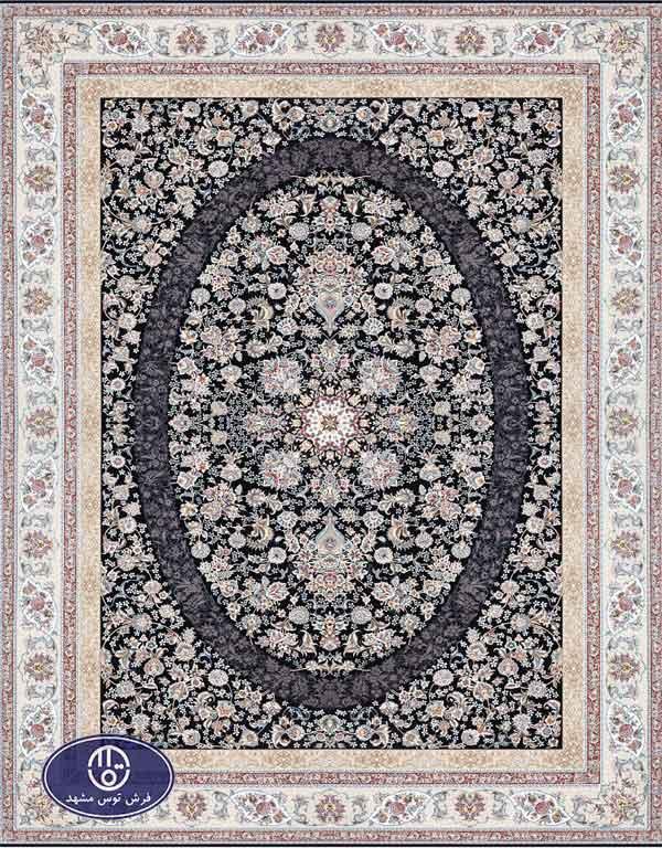 فرش 1500 شانه کد 1526 توس مشهد,سرمه ای
