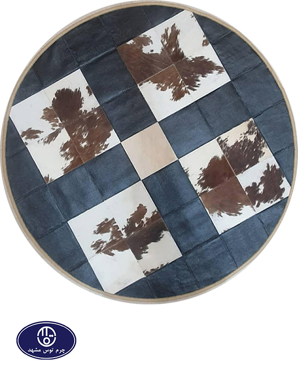 leather and skin rug, code 21