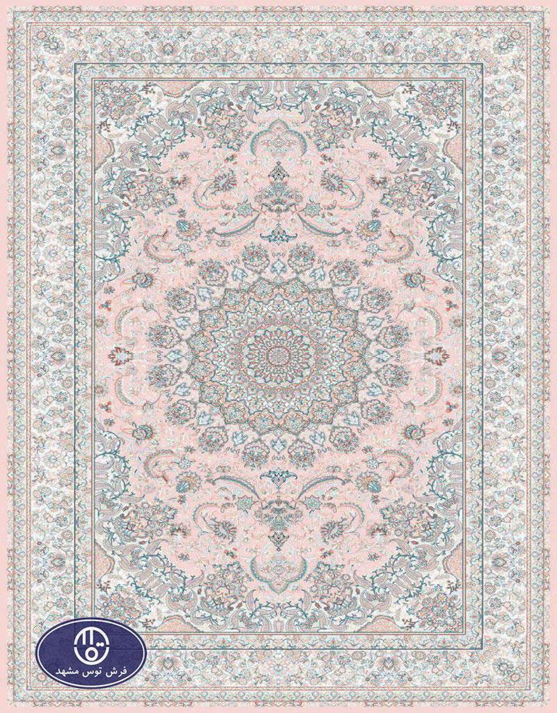 فرش 1200 شانه کد 1226,توس مشهد,صورتی