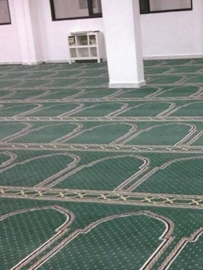 prayer carpet, Roya pattern, cream