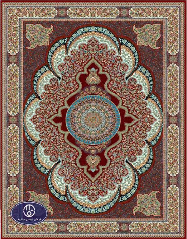 فرش ارزان 700 شانه کد 6024,توس مشهد,لاکی