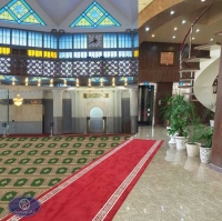 red carpet and prayer rugs
